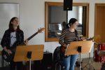 Bandprobe im Tonstudio (Weikersheim 2017)