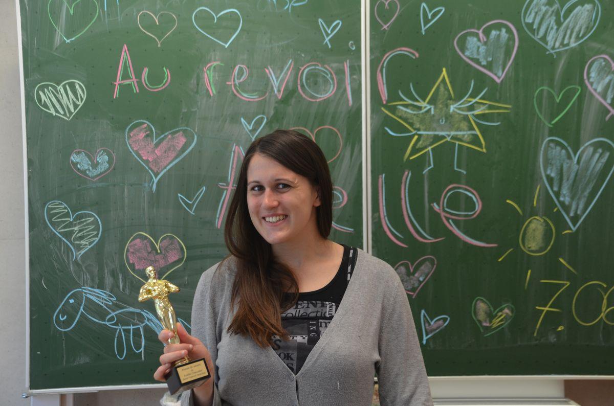 """Ein """"Oscar"""" für den ausgezeichneten Unterricht"""